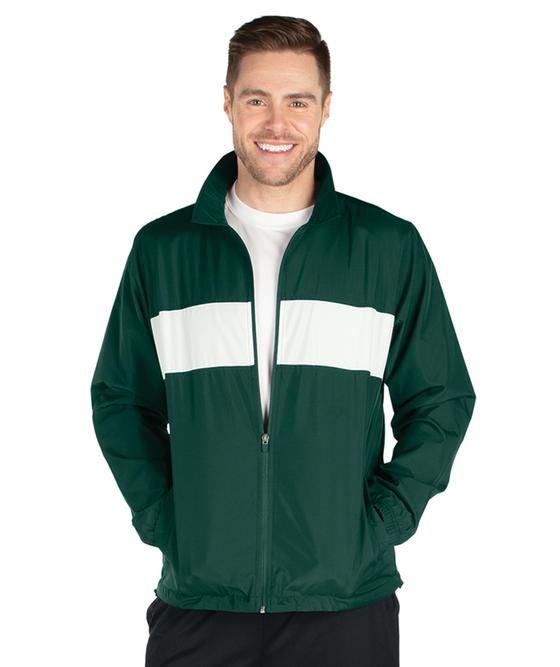 Adult Striped Sideline Jacket