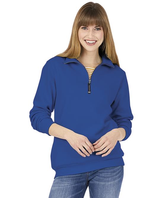 Adult Crosswind Quarter Zip Sweatshirt