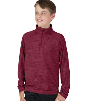Youth Space Dye Performance Pullover